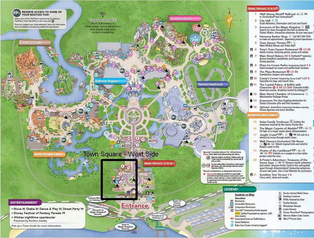 Chapter 4 - Magic Kingdom - Town Square - West Side - WDWMousing
